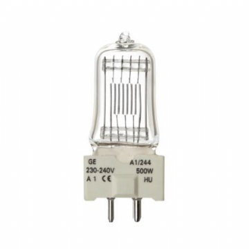 A1/244 Lamp, 500W, 240V, GY9.5 Base